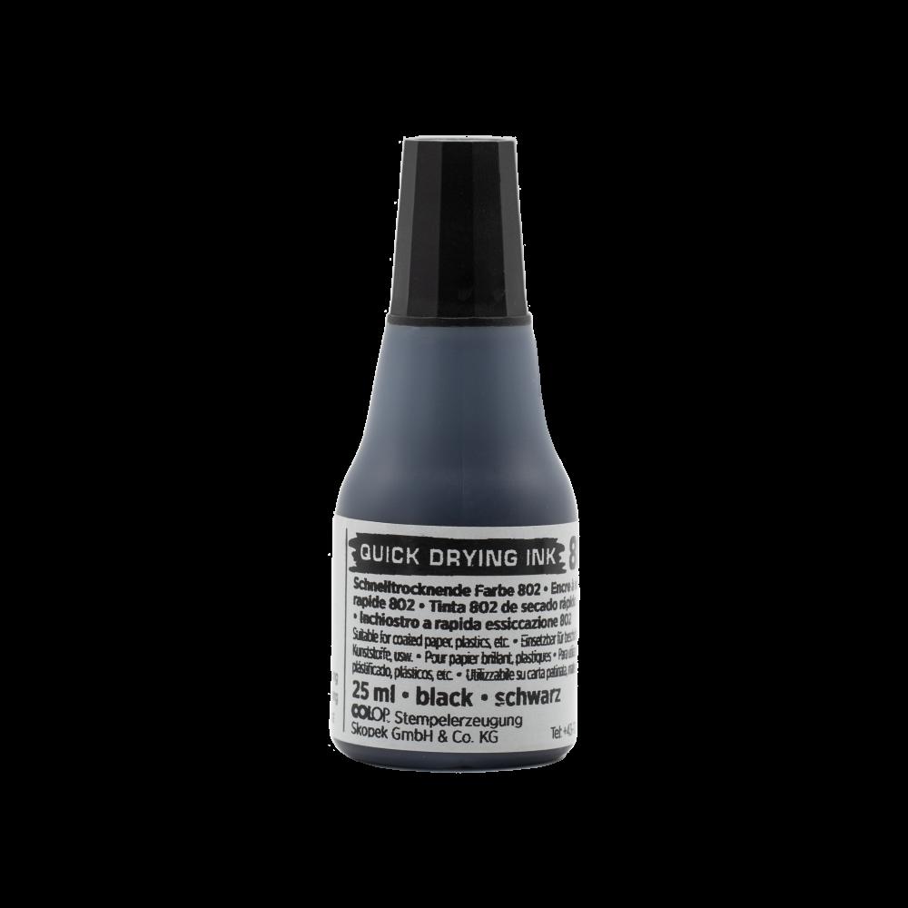 Stempelkissenfarbe Schnelltrocknend Farbe 802 (25 ml)